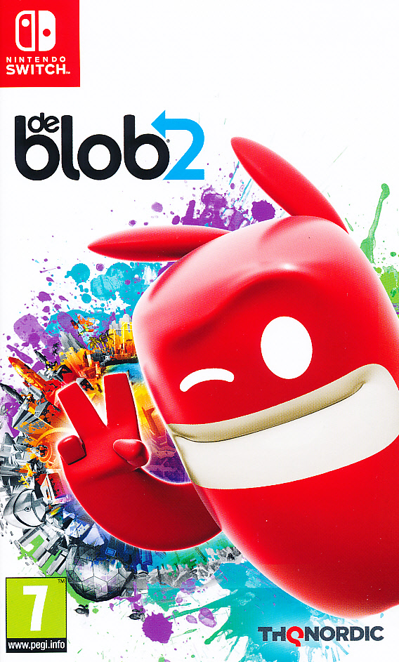 "Packshot for ""De Blob 2 NS"""