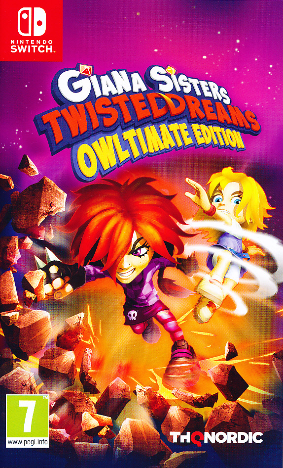 "Packshot for ""Giana Sisters Twisted Dreams Ult NS"""