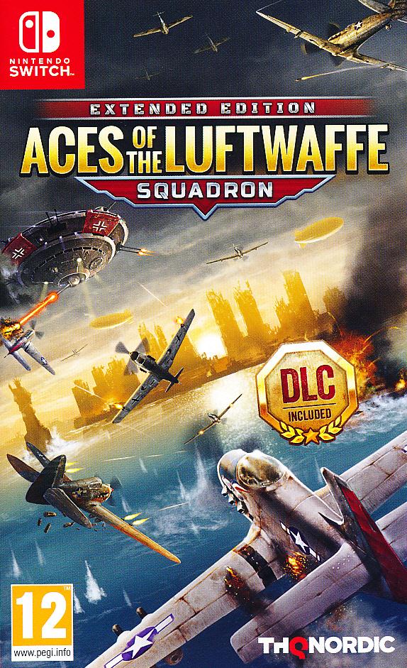 "Packshot for ""Aces of the Luftwaffe NS"""