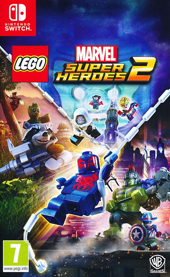 """Packshot for """"Lego Marvel Superheroes 2 NS"""""""