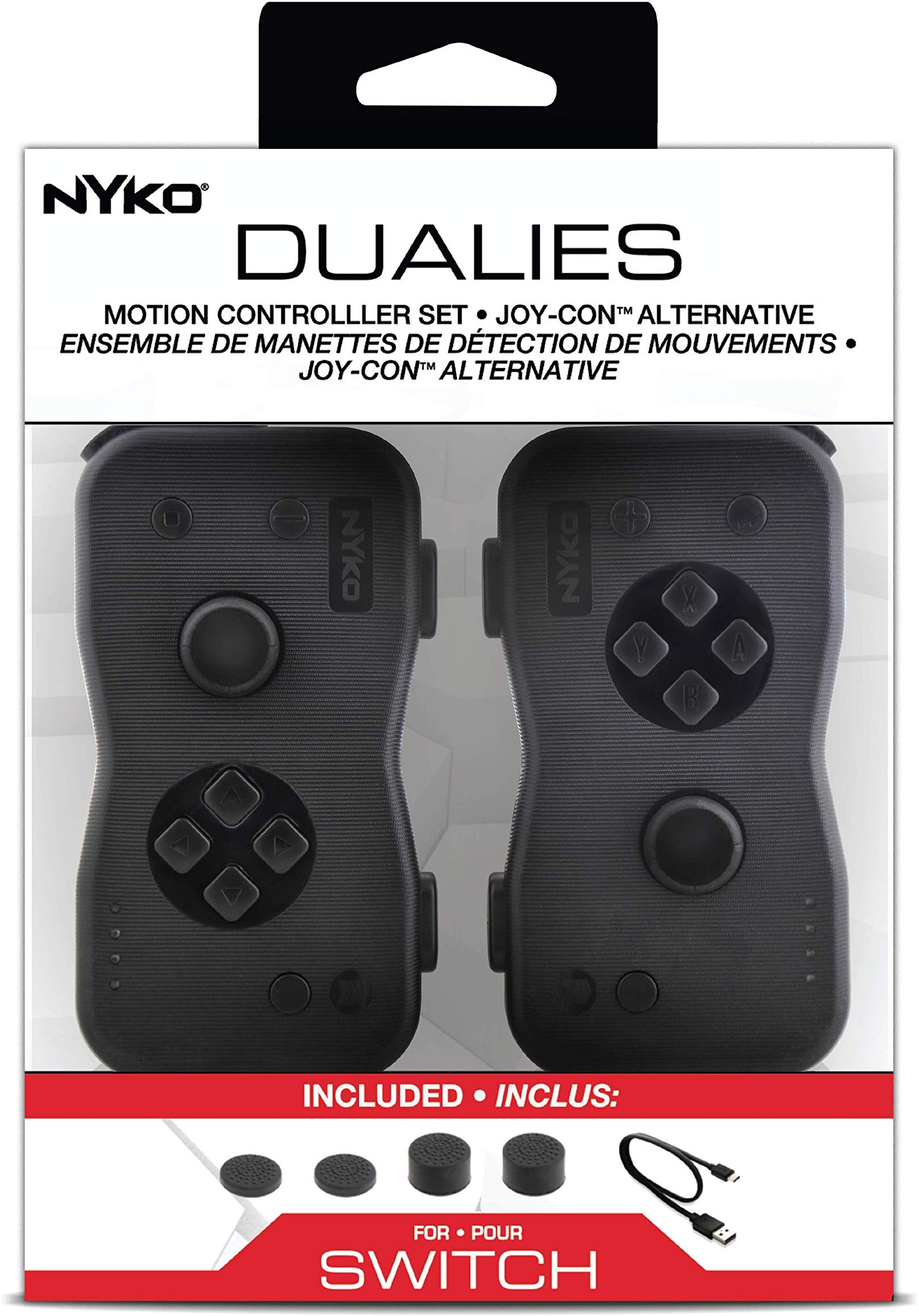 "Packshot for ""Nyko Dualies NS"""