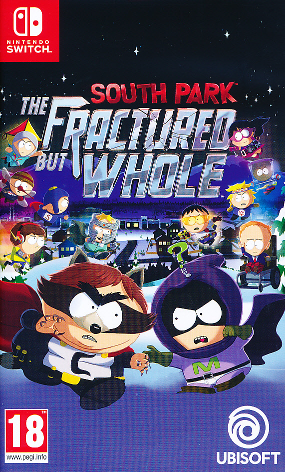 "Packshot for ""South Park Fractured NS"""