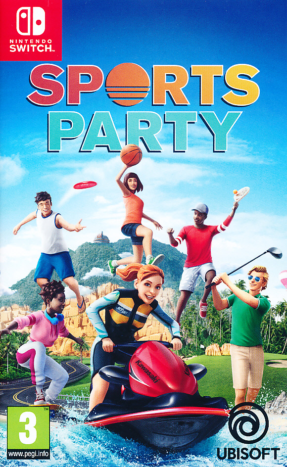 "Packshot for ""Sports Party NS"""