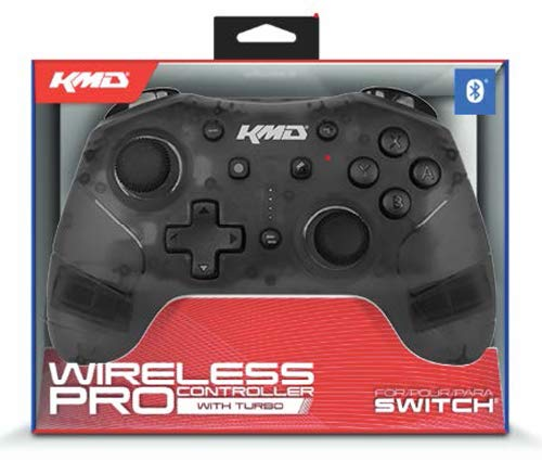"Packshot for ""KMD Switch Pro WL Controller Black"""