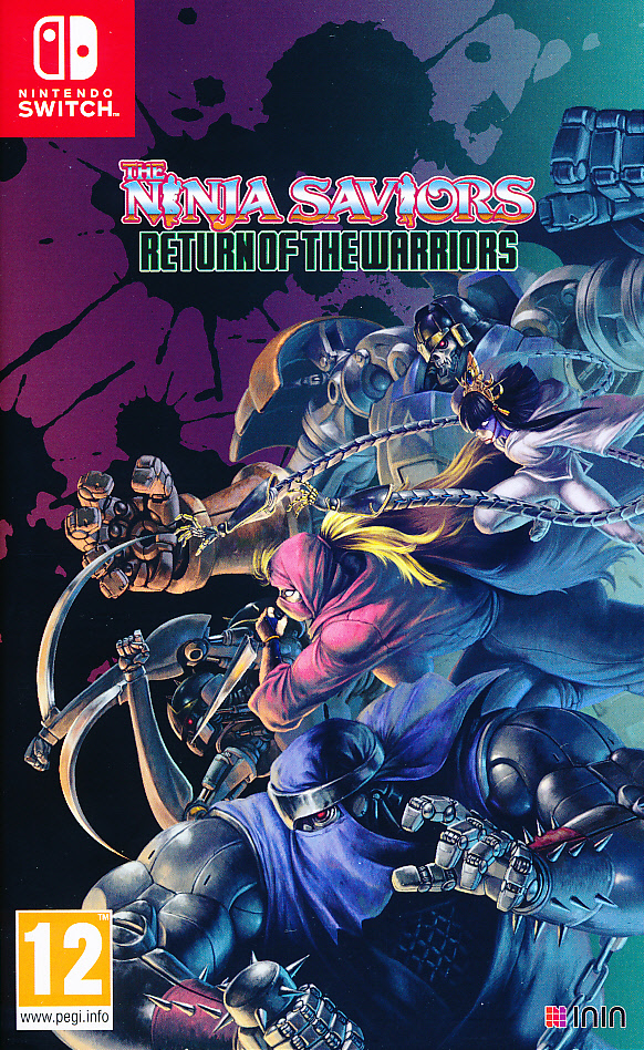 "Packshot for ""Ninja Saviors Return of Warrior NS"""
