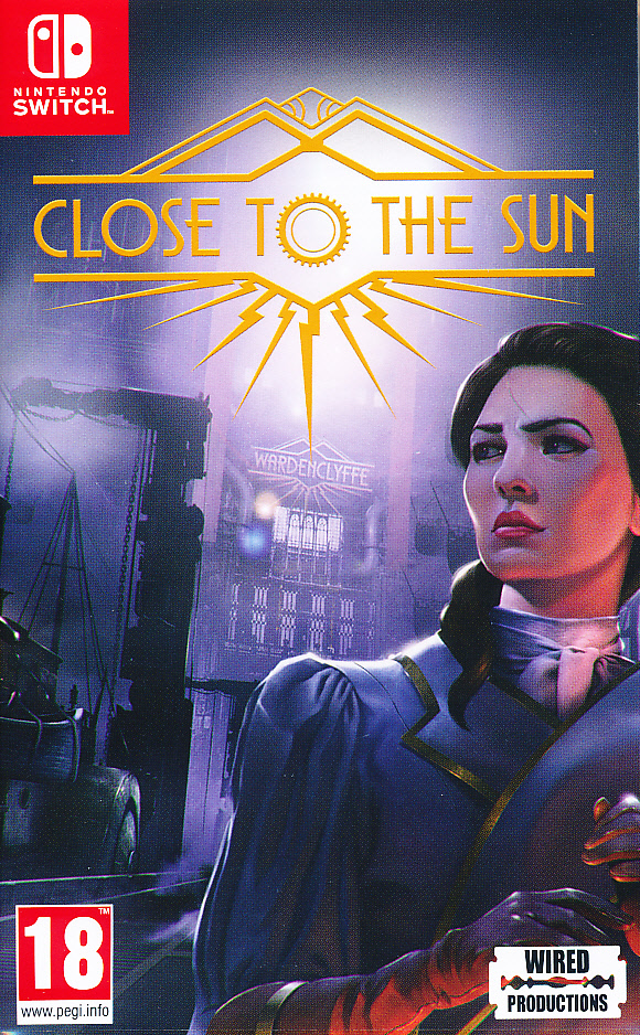 """Packshot for """"Close to the Sun NS"""""""