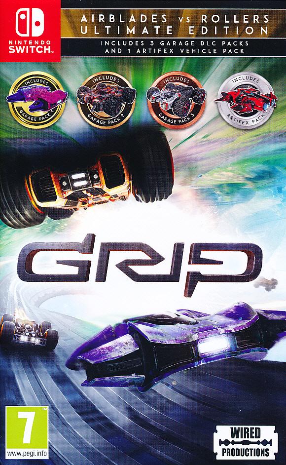 "Packshot for ""Grip Racing Rollers vs Airblades NS"""