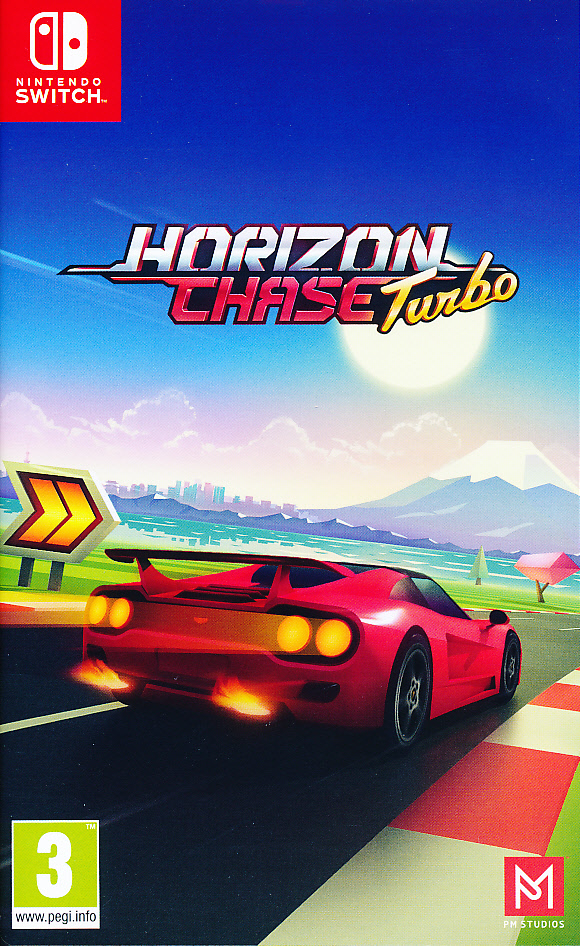"""Packshot for """"Horizon Chase Turbo NS"""""""