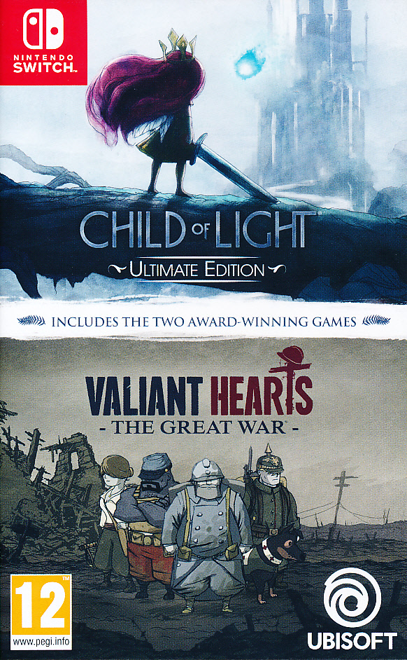 Child of Light + Valiant Hearts NS