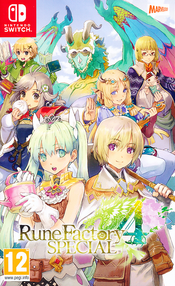 "Packshot for ""Rune Factory 4 Special NS"""