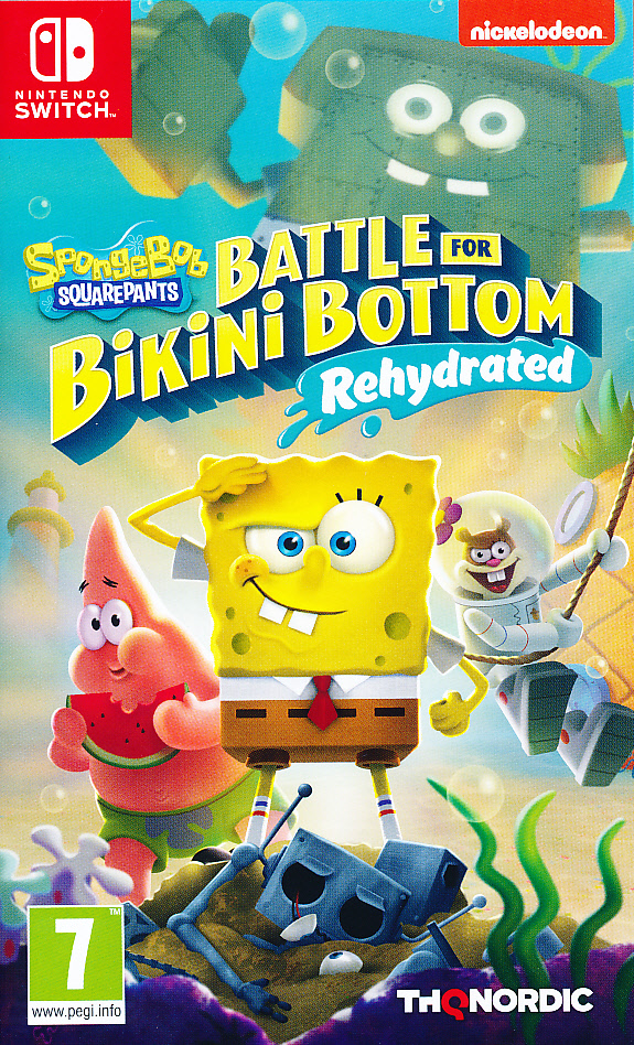 "Packshot for ""Spongebob Battle for Bikini Re. NS"""
