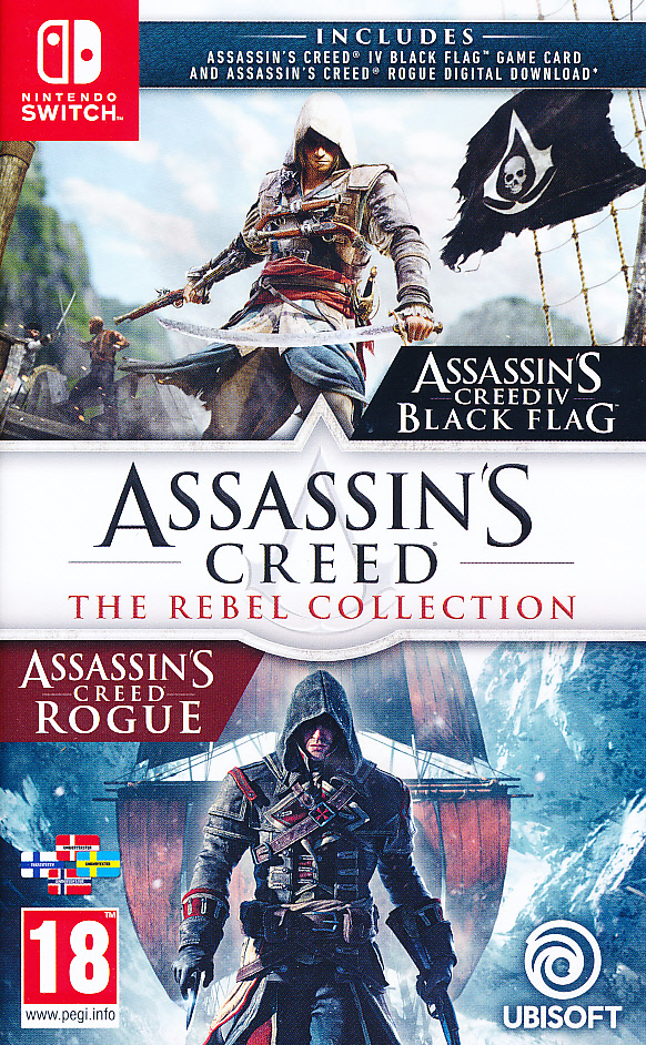 Assassins Creed Rebel Collection NS