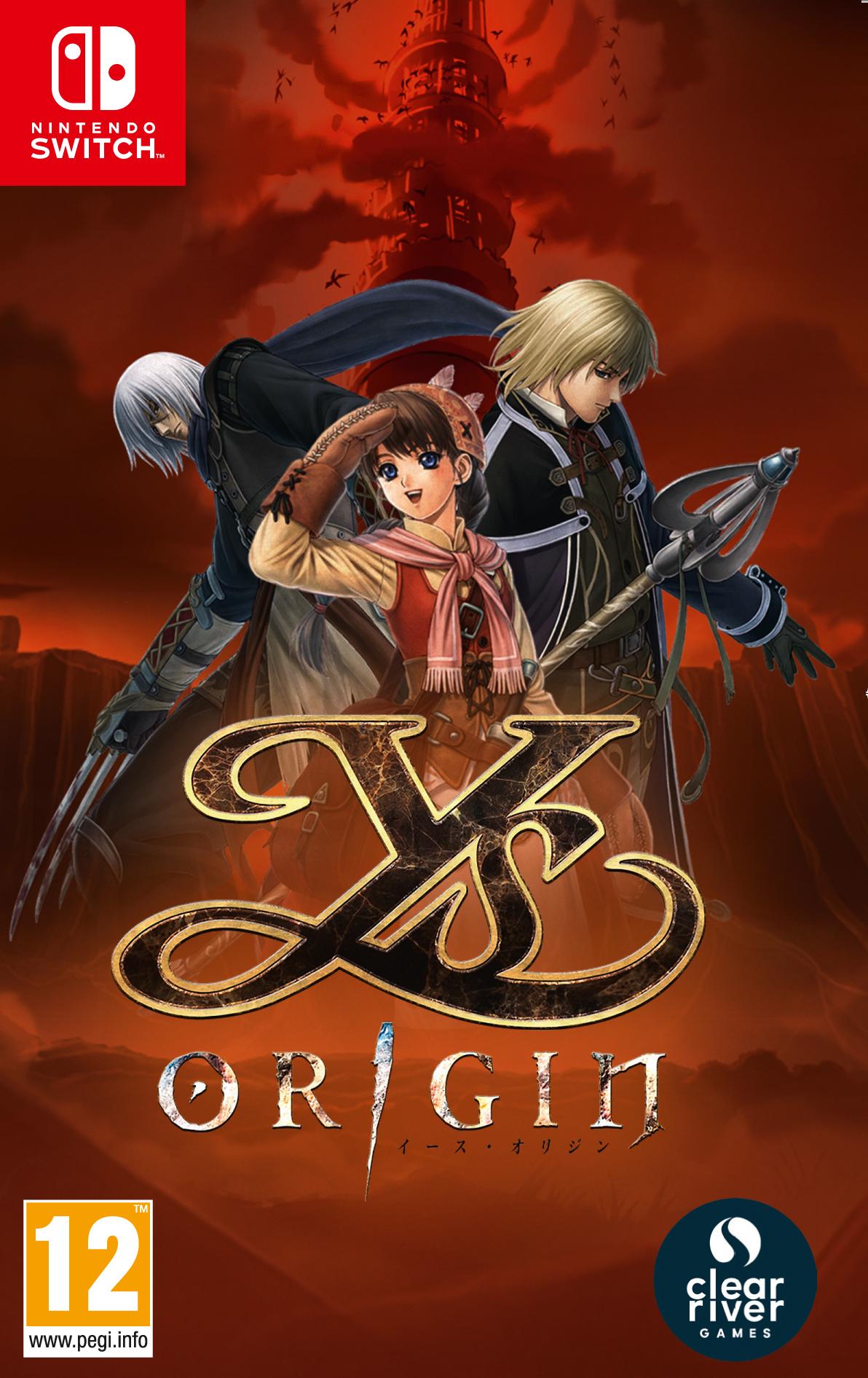 """Packshot for """"Ys Origin NS"""""""