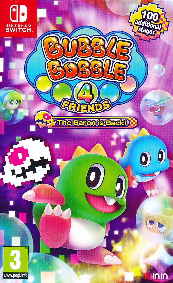 """Packshot for """"Bubble Bobble 4 Friends Baron is NS"""""""