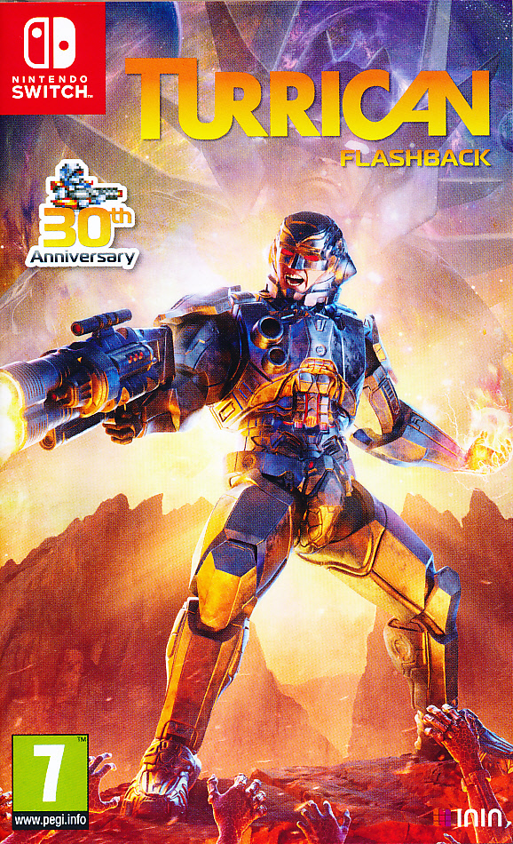 "Packshot for ""Turrican Flashback NS"""