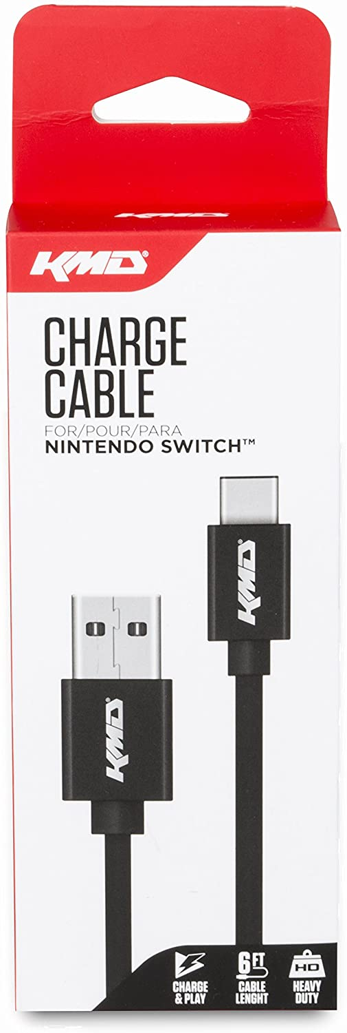 """Packshot for """"KMD Switch Charge Cable"""""""