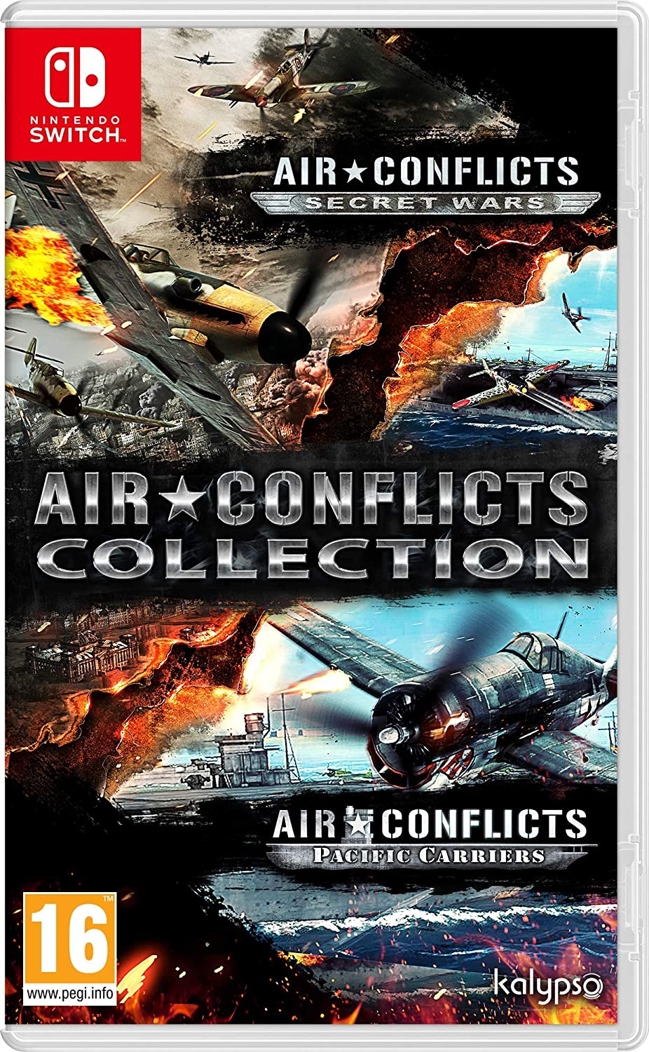 "Packshot for ""Air Conflicts Collection NS"""