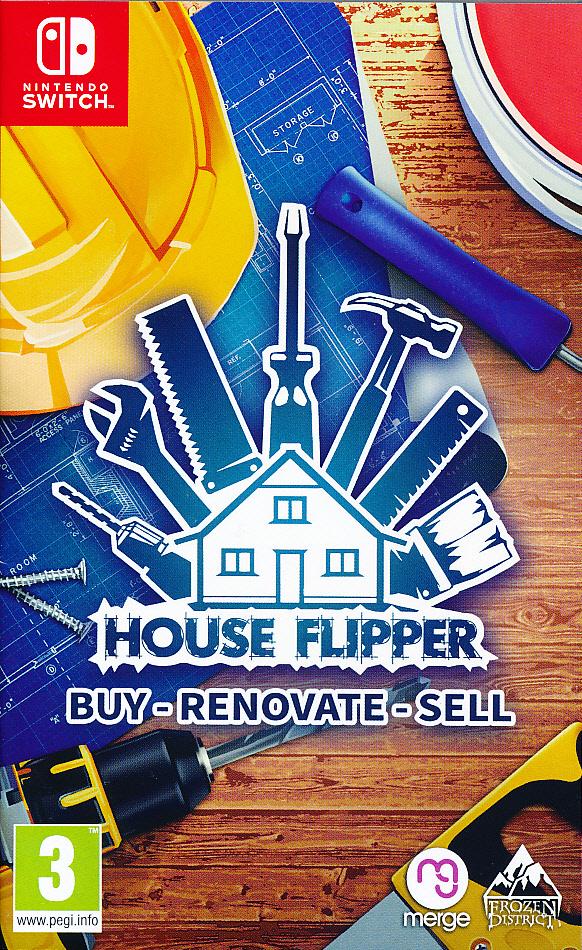 """Packshot for """"House Flipper NS"""""""