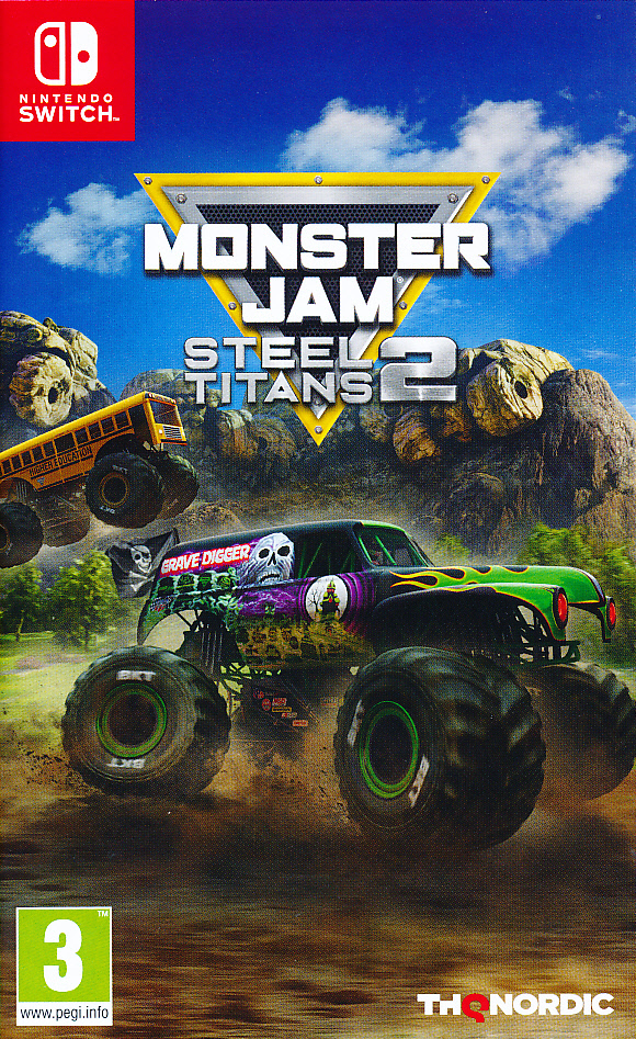 "Packshot for ""Monster Jam Steel Titans 2 NS"""