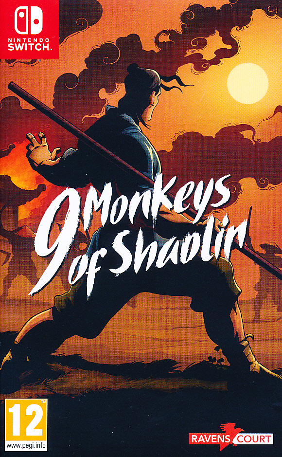 "Packshot for ""9 Monkeys of Shaolin NS"""