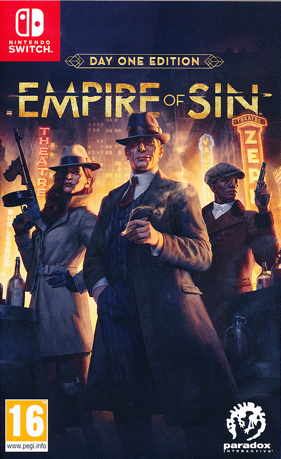 "Packshot for ""Empire of Sin Day One Ed. NS"""