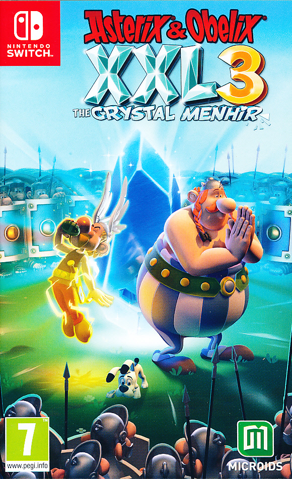 "Packshot for ""Asterix & Obelix XXL 3 NS"""