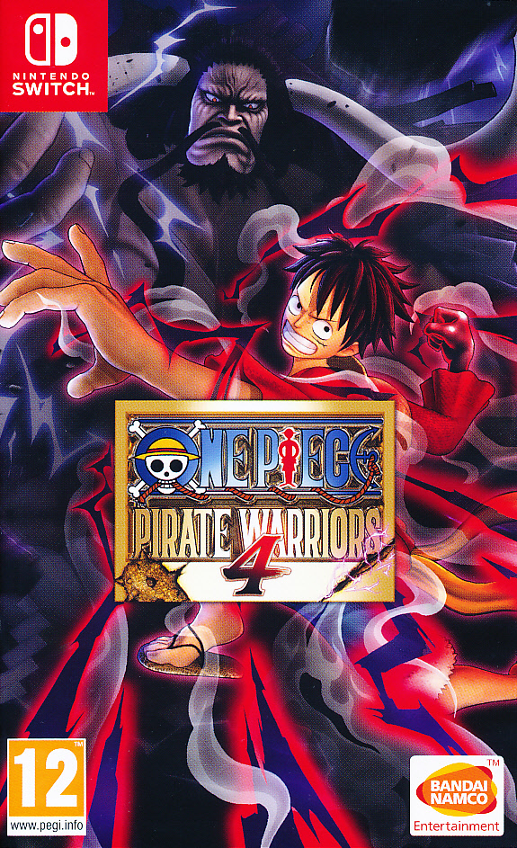 "Packshot for ""One Piece Pirate Warriors 4 NS"""