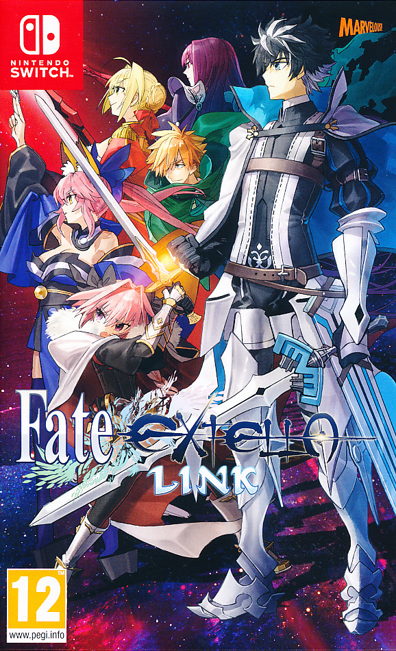 "Packshot for ""Fate Extella Link NS"""