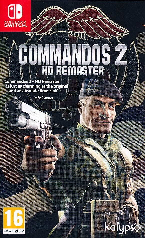 "Packshot for ""Commandos 2 HD Remaster NS"""
