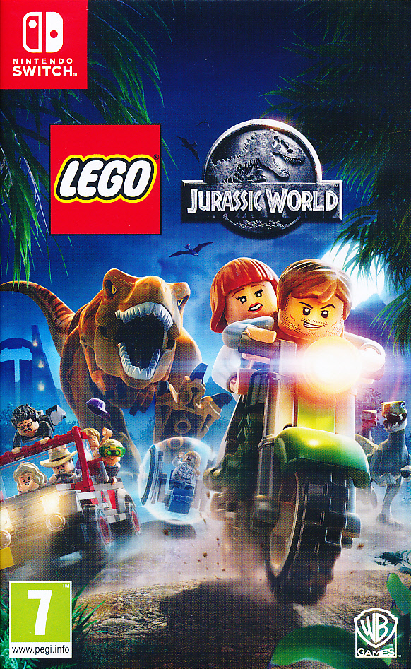 "Packshot for ""Lego Jurassic World NS"""