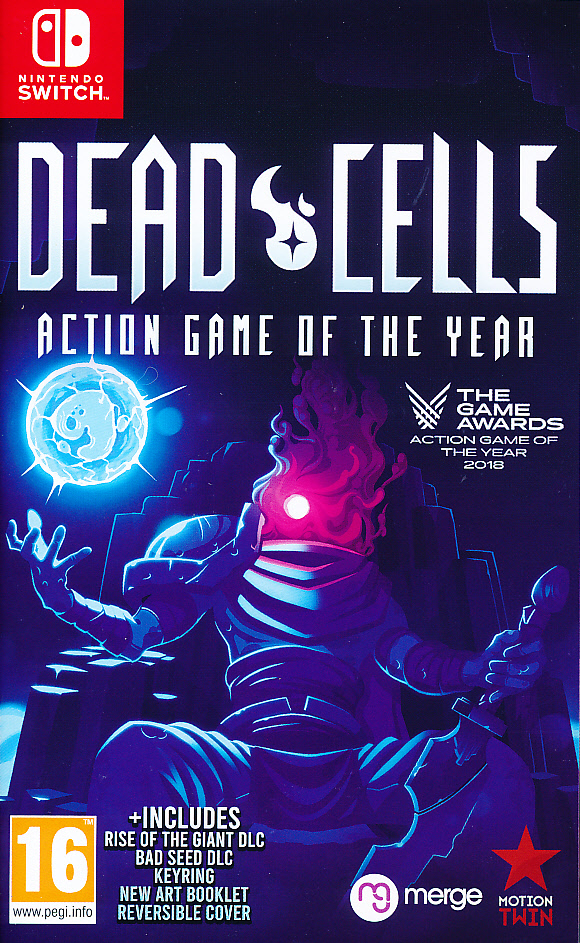 "Packshot for ""Dead Cells GOTY + Bad Seed DLC NS"""