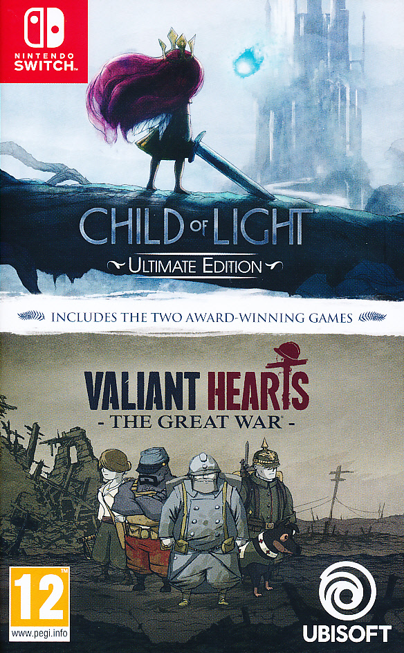 Child of Light + Valiant Heart..