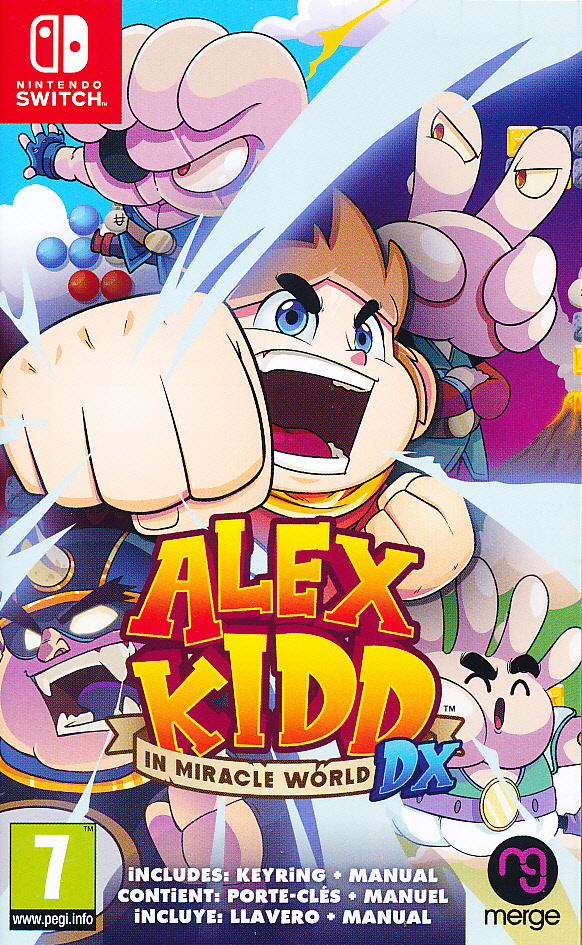 Alex Kidd in Miracle World DX NS