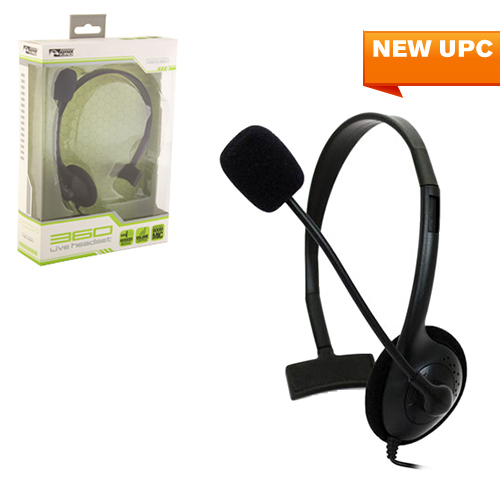 X360 Chat Headset Small Black KMD