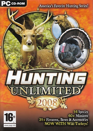 Hunting Unlimited 2008 PC