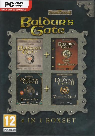 Baldurs Gate Comp 1&2+Exp. PC