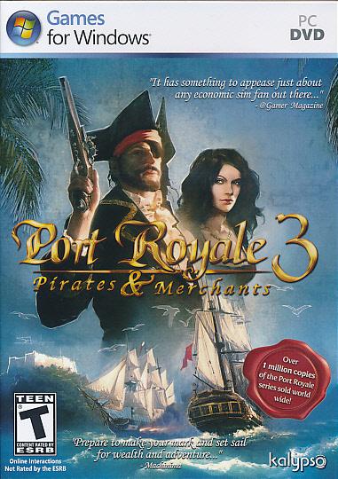 Port Royale 3 Pirates & Mer.ESRB PC