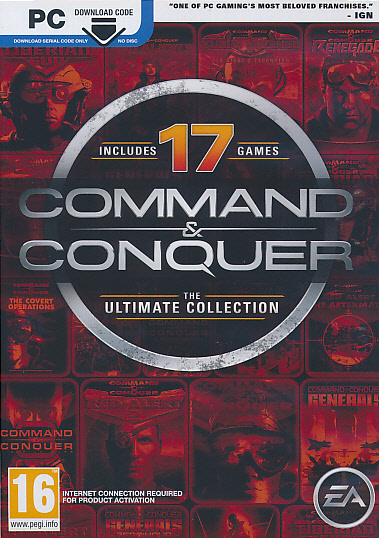 """Packshot for """"C&C Ultimate Collection NORD PC"""""""