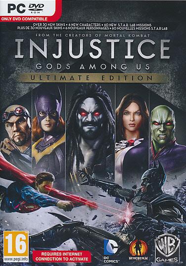 Injustice Gods Among Us Ult. Ed. PC