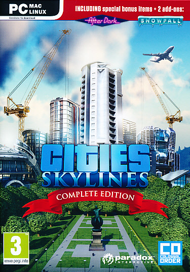 "Packshot for ""Cities Skylines Complete Ed. PC"""