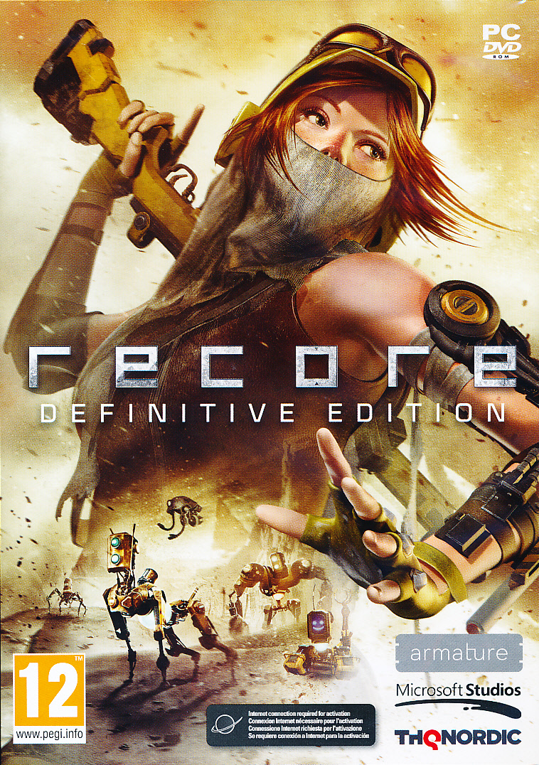 "Packshot for ""Recore Definitive Edition PC"""