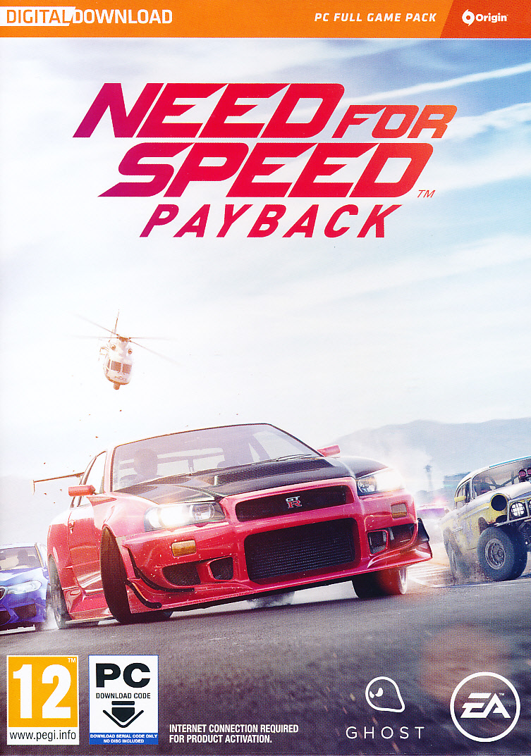 "Packshot for ""Need for Speed Payback (CIAB) PC"""
