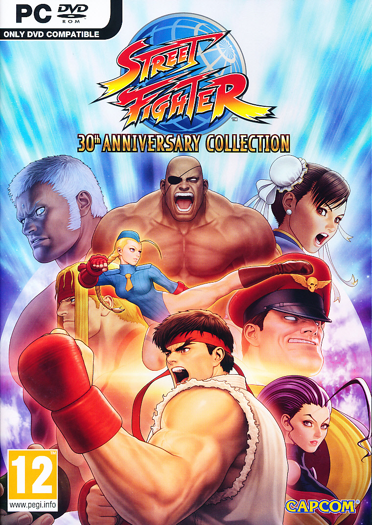 """Packshot for """"Street Fighter 30th Anni Coll. PC"""""""