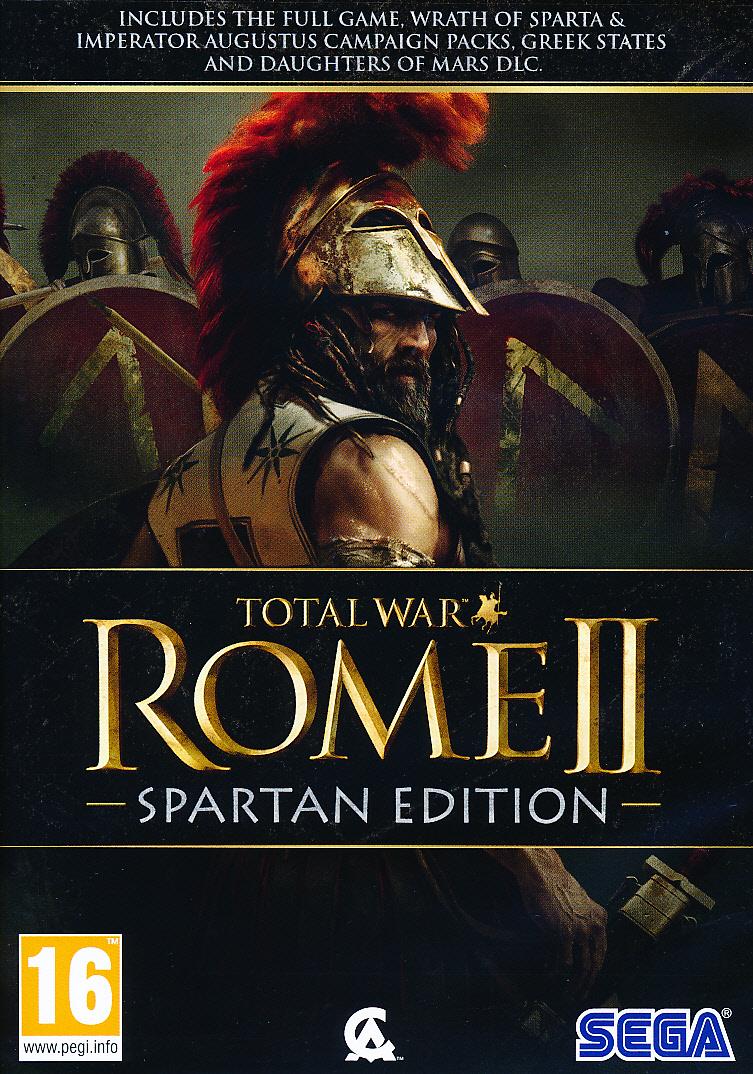 Total War Rome 2 Spartan Ed. PC
