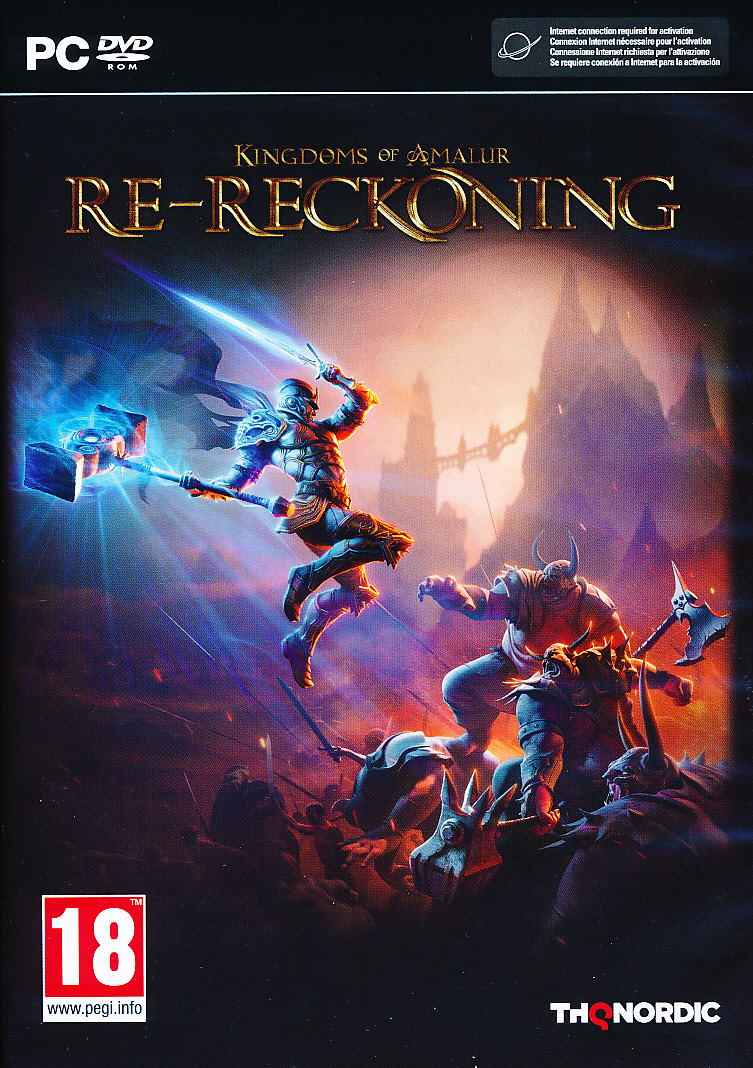 "Packshot for ""Kingdoms of Amalur Re-Reckoning PC"""