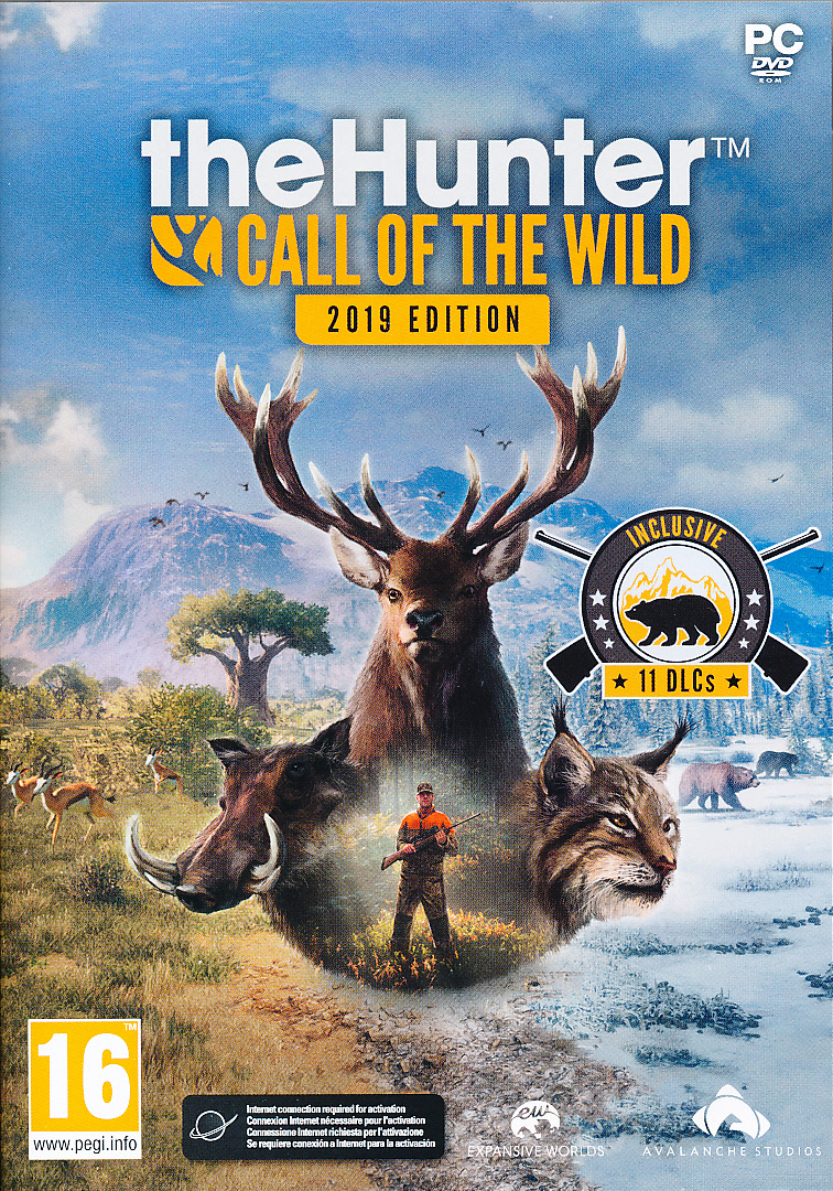 "Packshot for ""The Hunter Call of the Wild GOTYPC"""