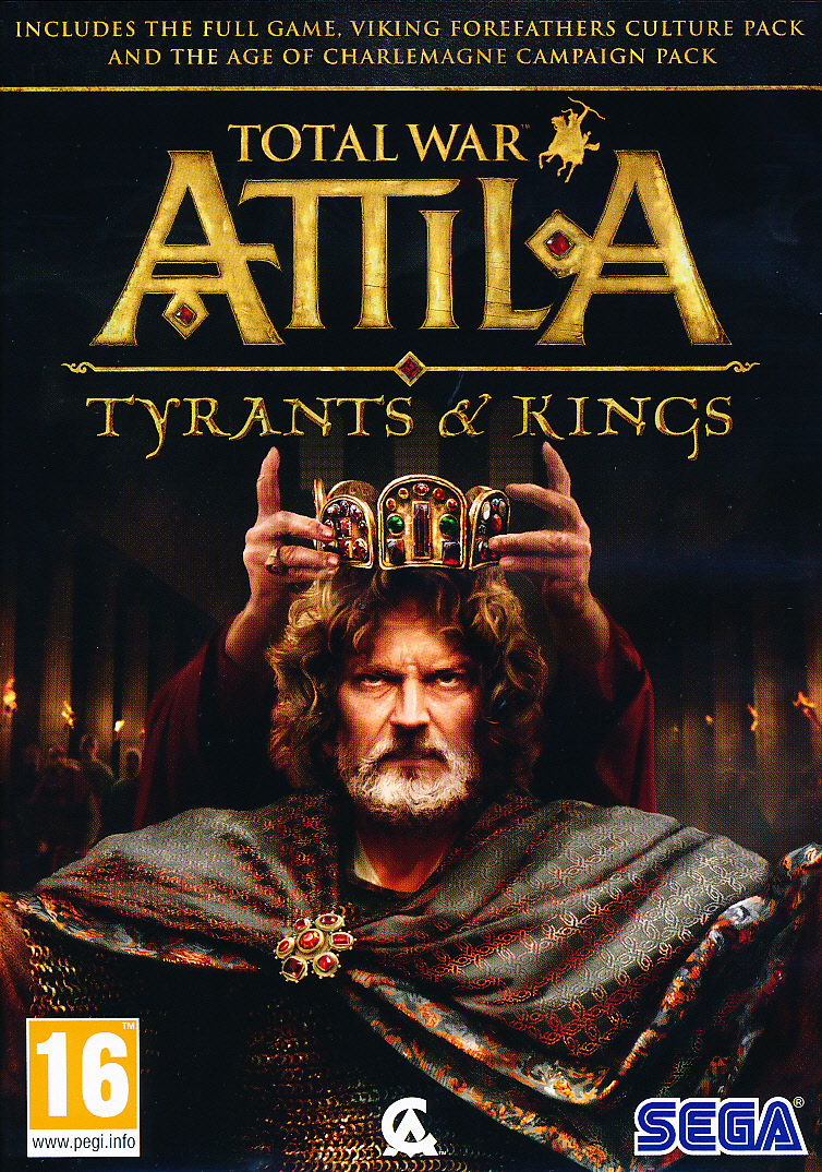 "Packshot for ""Total War Attila Tyrants & Kings PC"""
