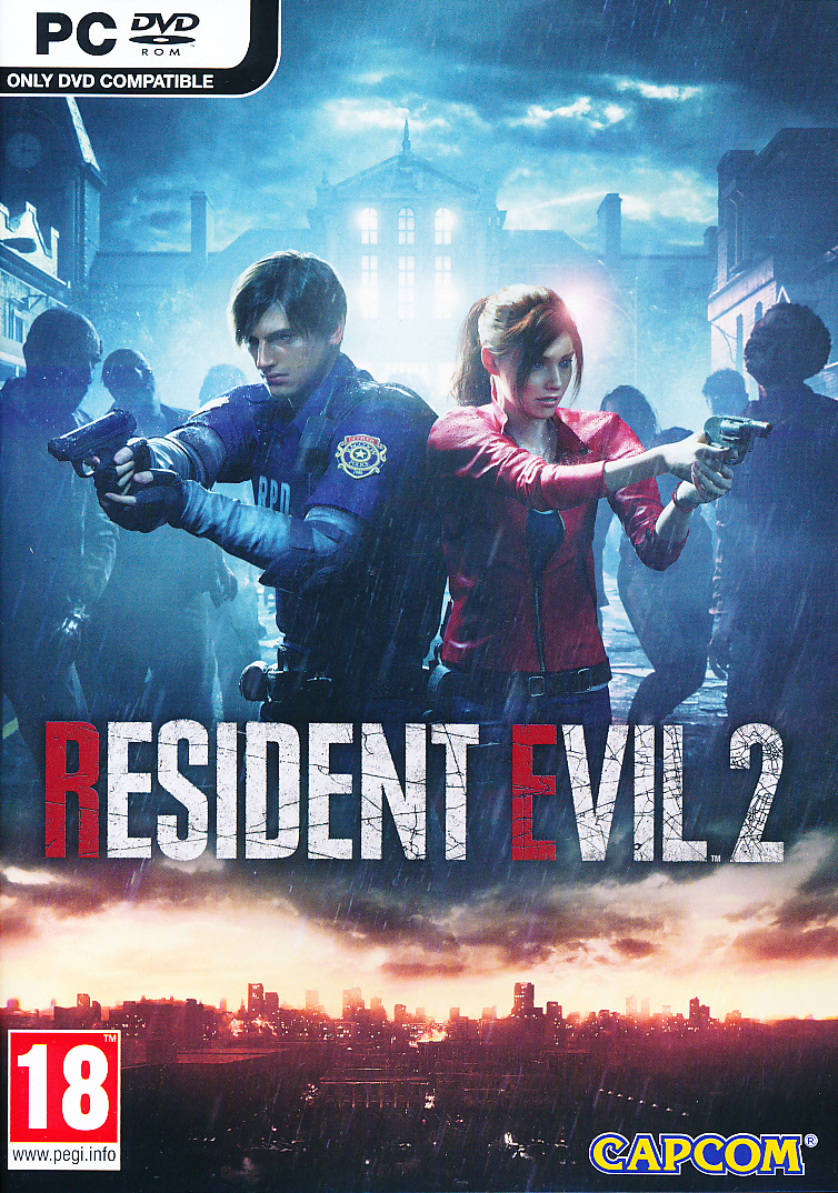 "Packshot for ""Resident Evil 2 Remake PC"""