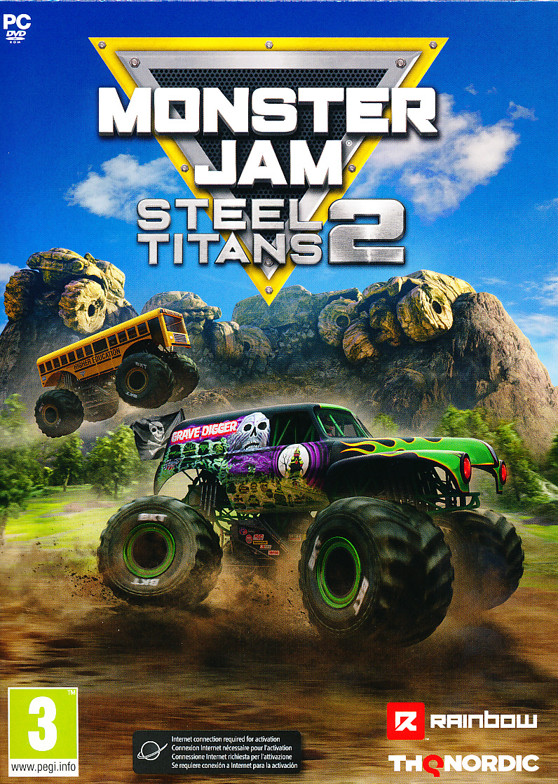 "Packshot for ""Monster Jam Steel Titans 2 PC"""