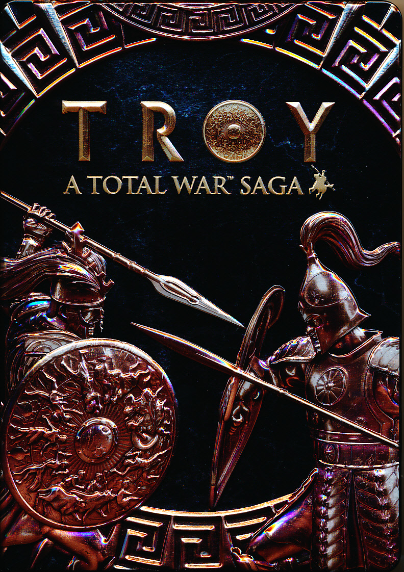 "Packshot for ""A Total War Saga Troy Ltd. Ed. PC"""